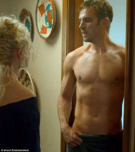 the guest shirtless